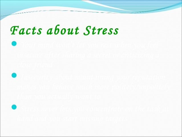 Stress Management & Conflict Management Identify the BIG EGO Keep this BIG EGO under check Do some self-analysis Keep ...