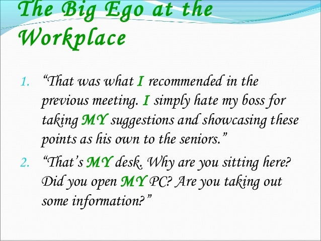 """The Big Ego with Friends 1. """"Why didn't you call ME up before Jack to tell about the party? You always share things with h..."""