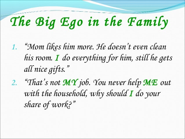 How good is the BIG EGO? My head is always high People don't trust me and I don't trust people I criticize others a lot...