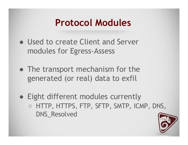 """Client Protocol Modules ● Single """"Protocol"""" Python Class ● __init__ method ○ All it needs is a name ○ Access to all CL..."""
