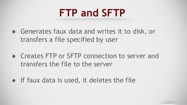 FTP Transfer