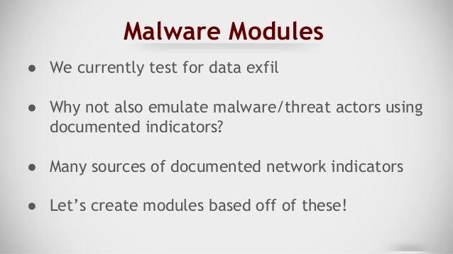 Malware Options