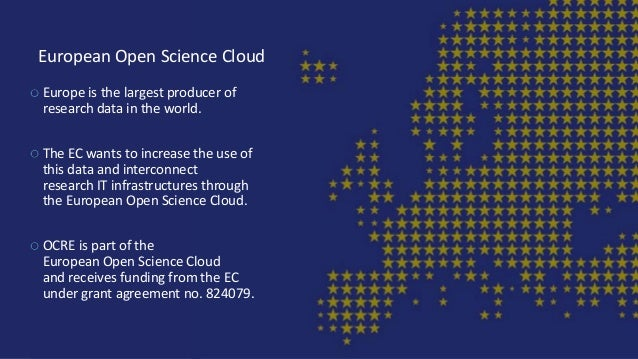 European Open Science Cloud Europe is the largest producer of research data in the world. The EC wants to increase the use...