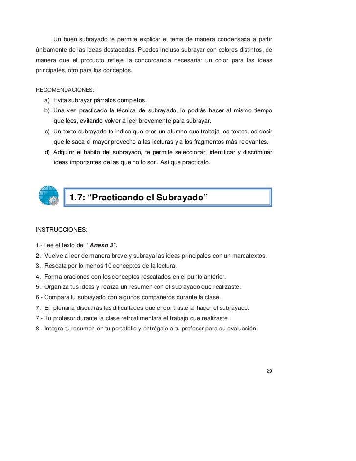 Lujoso Resumen Y La Idea Principal De Trabajo 1 Respuestas ...