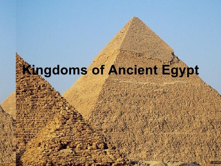 Kingdoms of Ancient Egypt