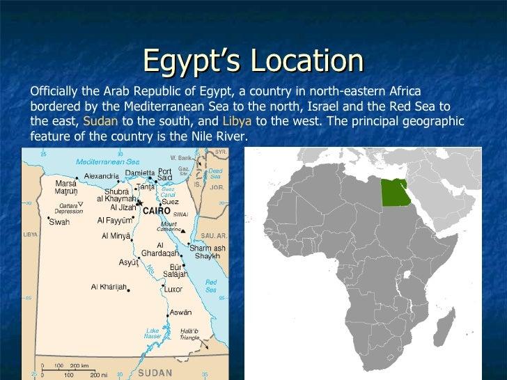 Egypt - Egypt location
