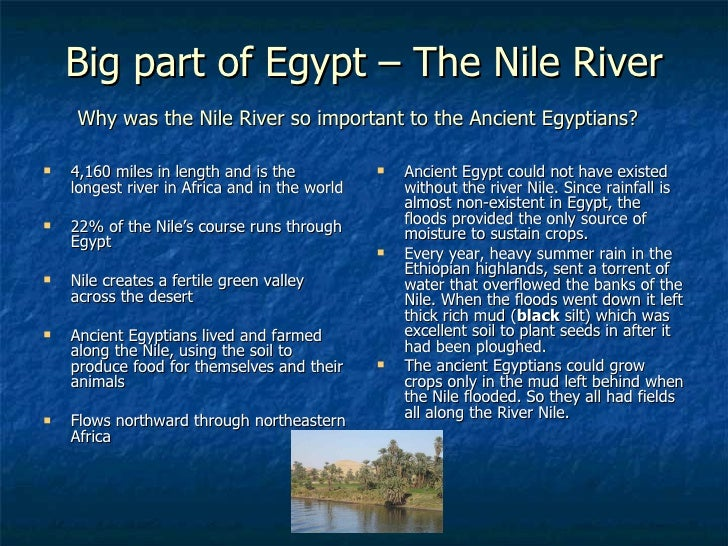 the nile river in shaping egyptians life essay