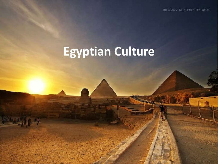 Egyptian Culture PowerPoint