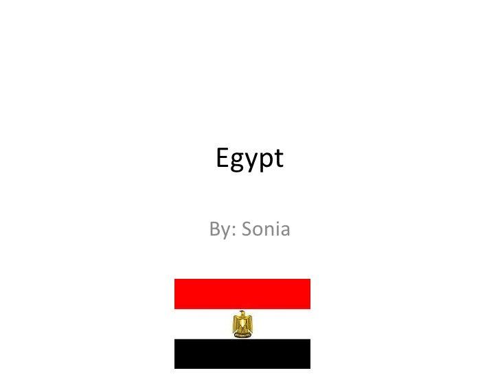 EgyptBy: Sonia