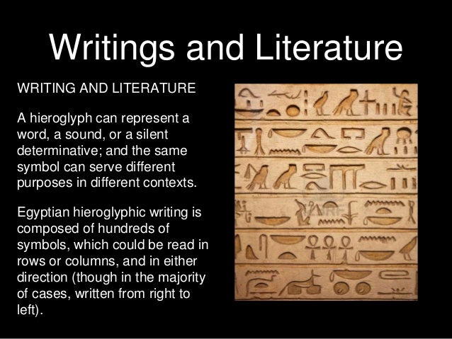 Ancient egyptian writing and literature of mesopotamia