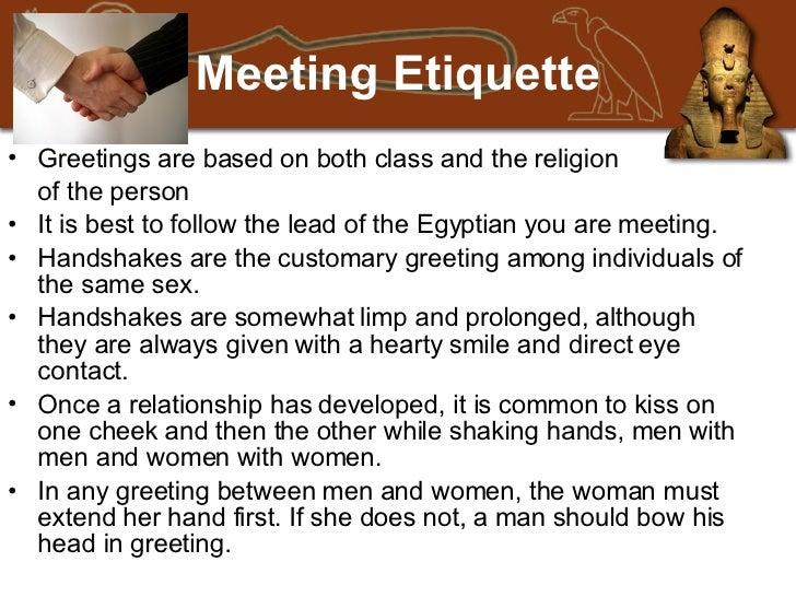 Egypt business etiquette danny camacho meeting etiquette m4hsunfo Gallery