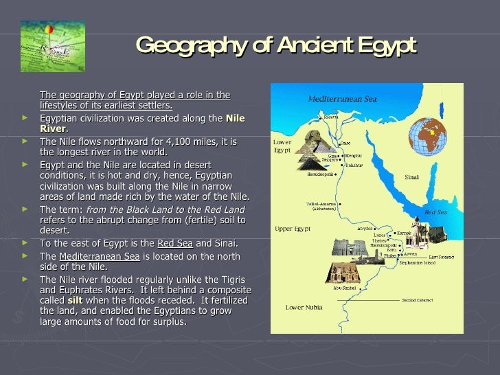 The geography of egypt