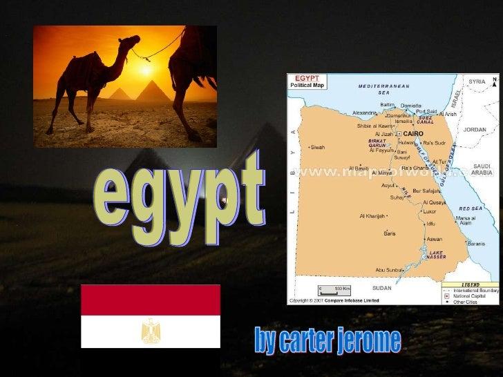 egypt by carter jerome