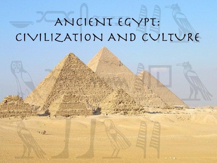 ANCIENT EGYPTIAN CULTURE PDF