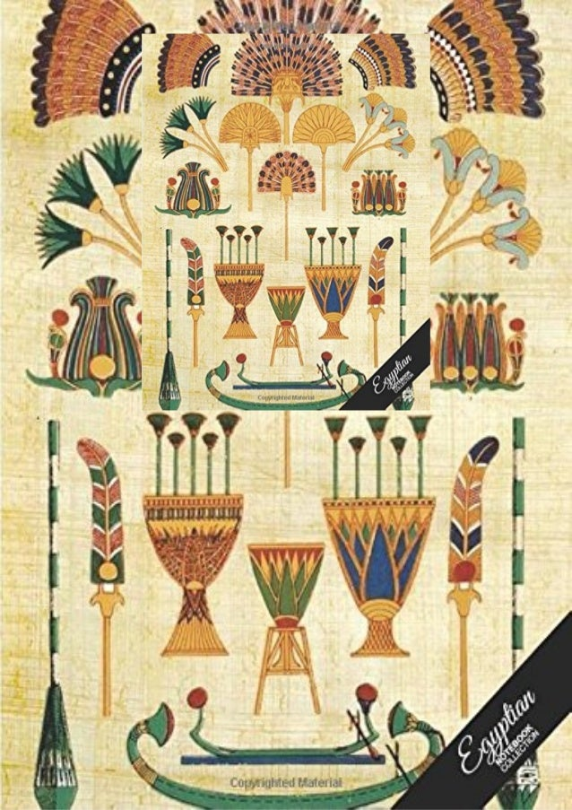 DESCRIPTION Egyptian Notebook Collection: Art Paper, Journal/Diary, Wide Ruled, 100 Pages, 8.5 x 11, (Egyptian Art)