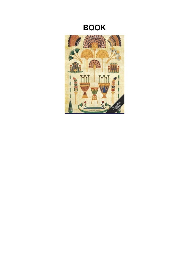 [PDF]⚡DOWNLOAD❤ Egyptian Notebook Collection: Art Paper, Journal/Diary, Wide Ruled,