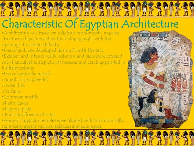 Egyptian Architecture egyptian architecture