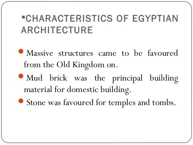 Main characteristics of Egyptian Art Essay Sample