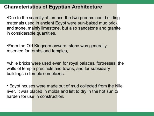 Egyptian architecture 1