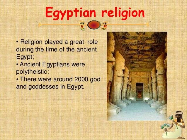 Contribution of Egyptian Civilization Essay