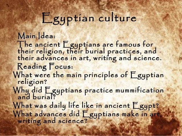 the culture of egypt essay This is egypt's folk culture: profane, bawdy, politically sophisticated  his essay  on the egyptian novelists sonallah ibrahim and albert.