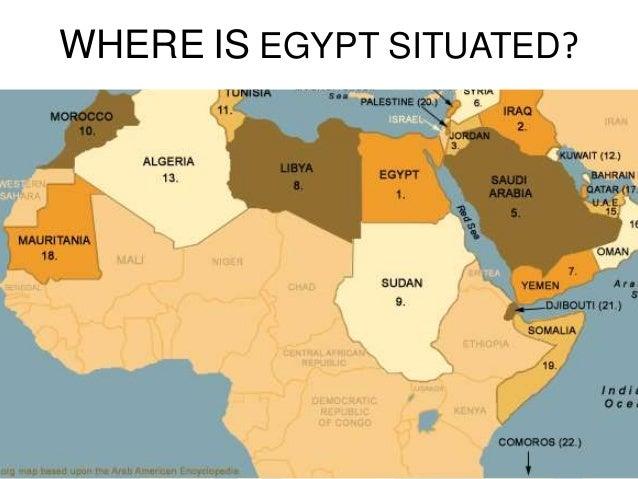 Egyptian Food - Where is egypt