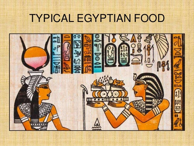 Ancient Egyptian Foods And Drinks Recipes
