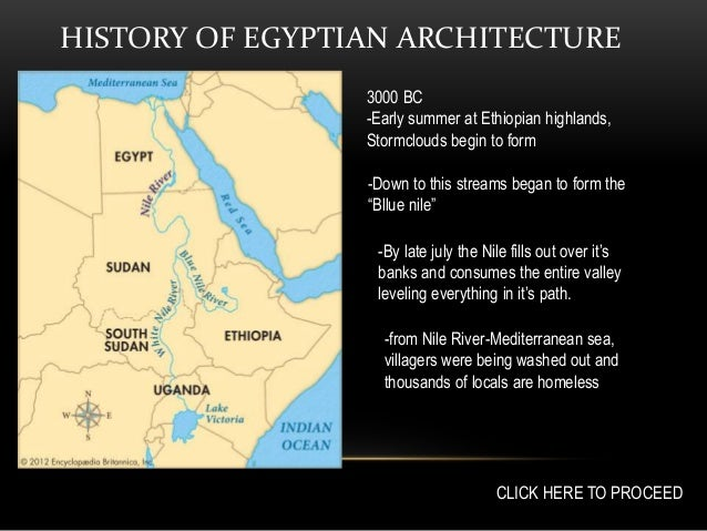 HISTORY Egyptian Funerary Architecture - Map of egypt 3000 bc