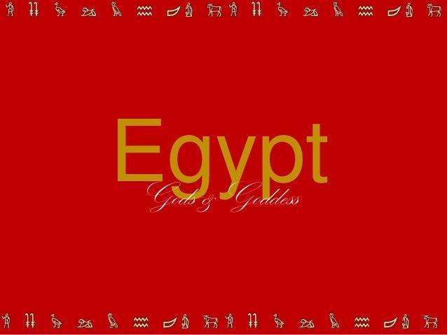 EgyptGods & Goddess
