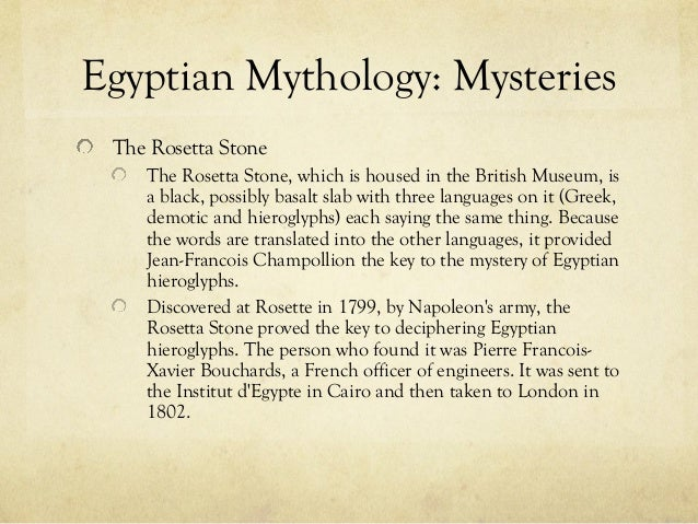 egyptian myths and legends essay Stephan stenudd critiques the jungian analysis of myths of creation in this essay and five egyptian myths on the main myths and legends page since its.