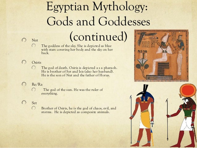 Egyptian mythology ppt