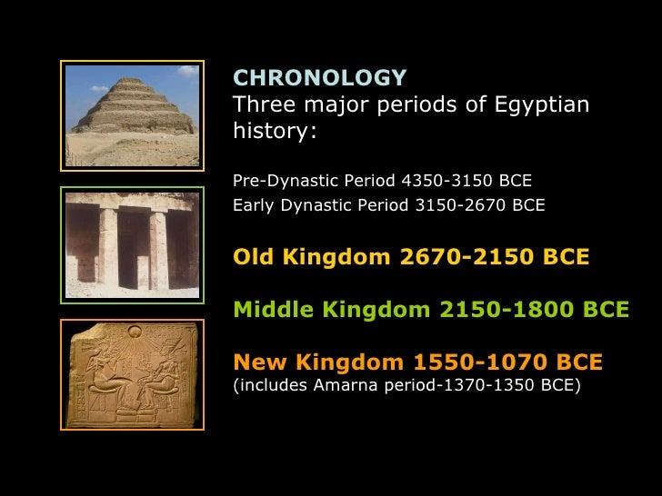 three major periods of egyptian history