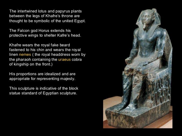 the khafre enthroned an egyptian cubic style sculpture Technique additive function to portrayhonor khafre as enthroned powerful king technique additive function to portrayhonor khafre as art history131 egyptian.