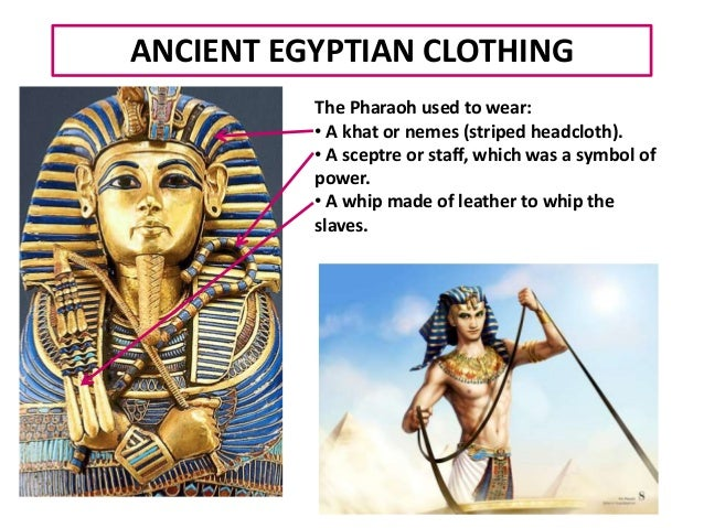 Egyptian society and clothes