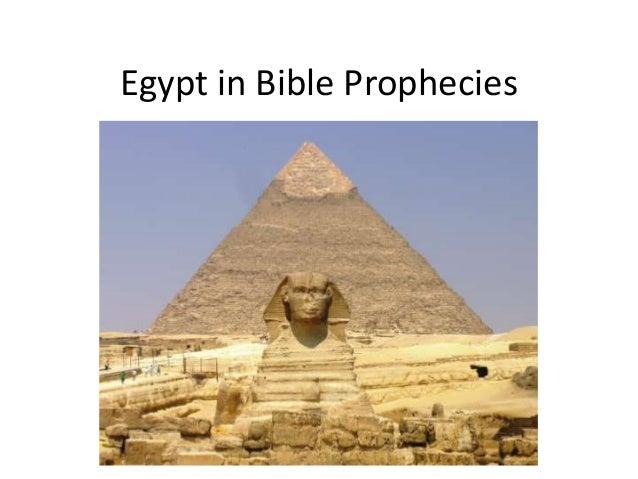 Egypt in Bible Prophecies