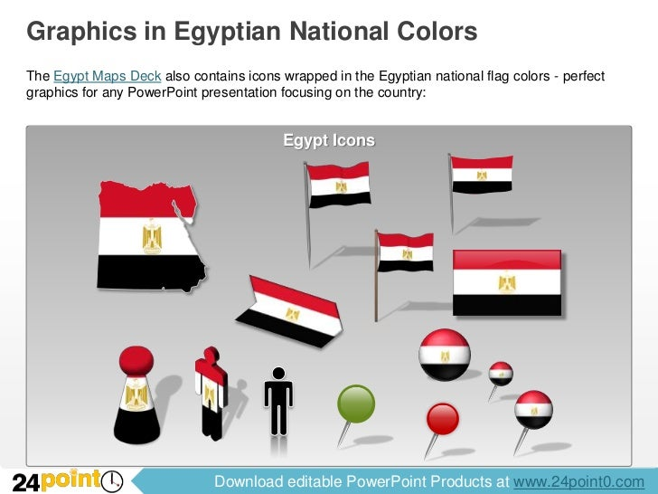 Editable egypt maps for powerpoint download editable powerpoint products at 24point0 6 graphics in egyptian toneelgroepblik Choice Image