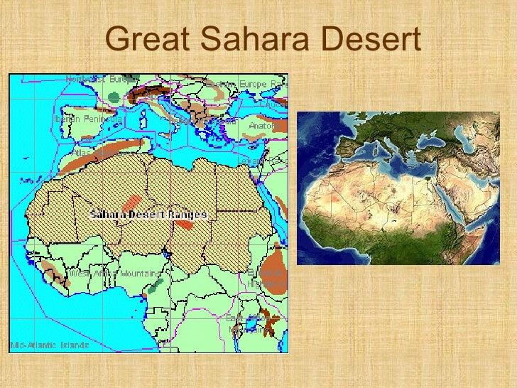Sarah Desert Map Of Egypt Map Of Africa Map China Deserts - Sahara desert location