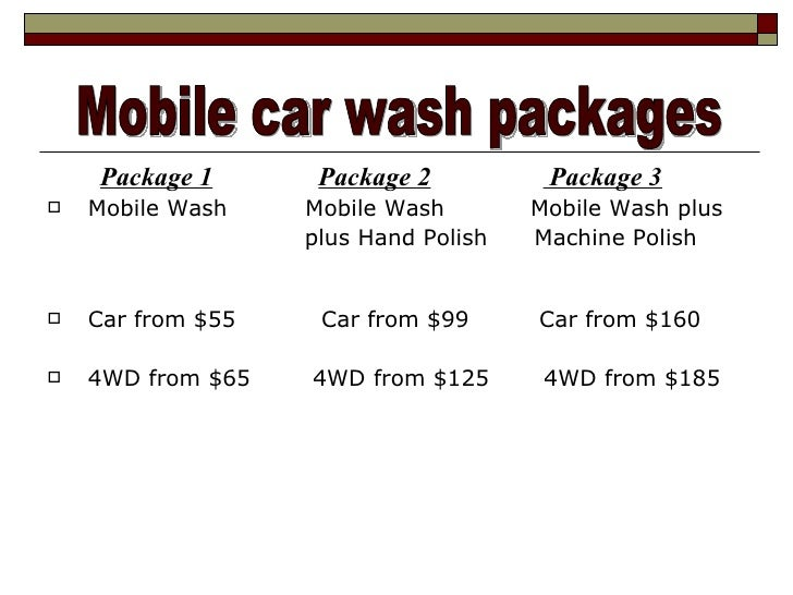 Egy Wash - Mobile Car Wash Detailing Services