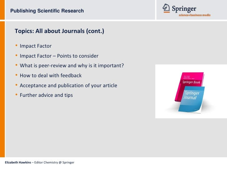scientific research and essays