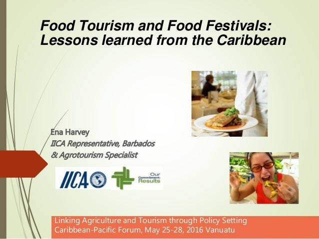 Ena Harvey IICA Representative, Barbados & Agrotourism Specialist Linking Agriculture and Tourism through Policy Setting C...