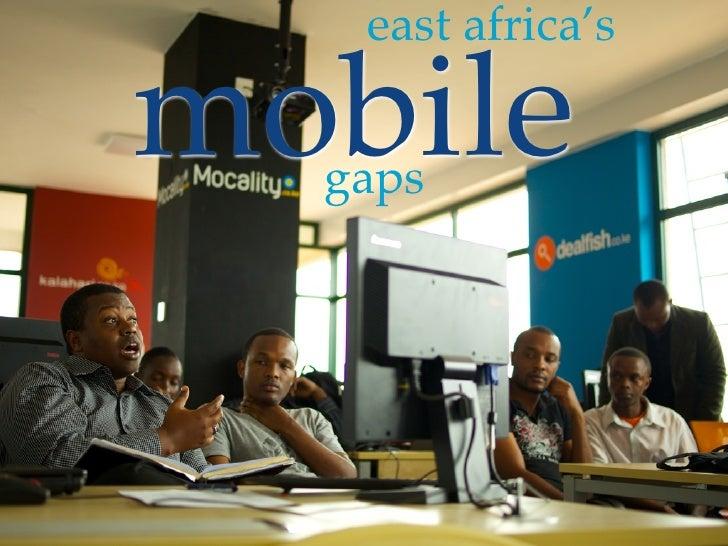 east africa'smobile  gaps