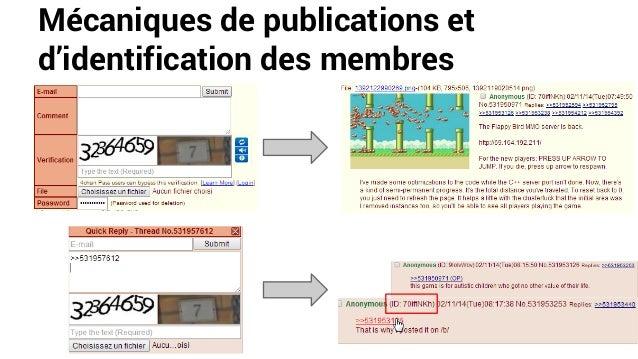 Mécaniques de publications et d'identification des membres