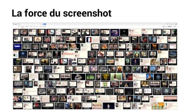 La force du screenshot