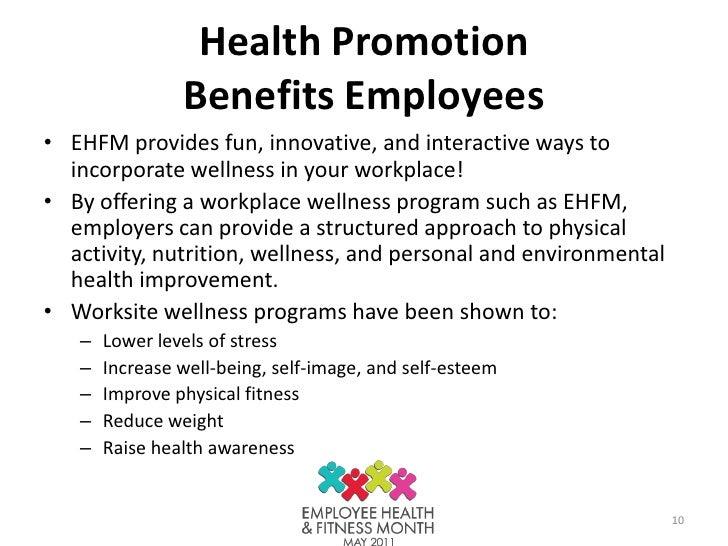 Health Promotion Benefits ...