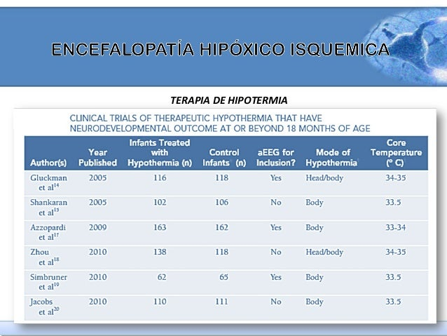 TERAPIA DE HIPOTERMIA