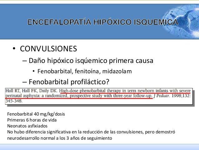 • Beneficio potencial  • Rn a término  • Asfixia perinatal severa  • 3 dosis de magnesio (250mg/kg/dosis) menos de 6 horas...