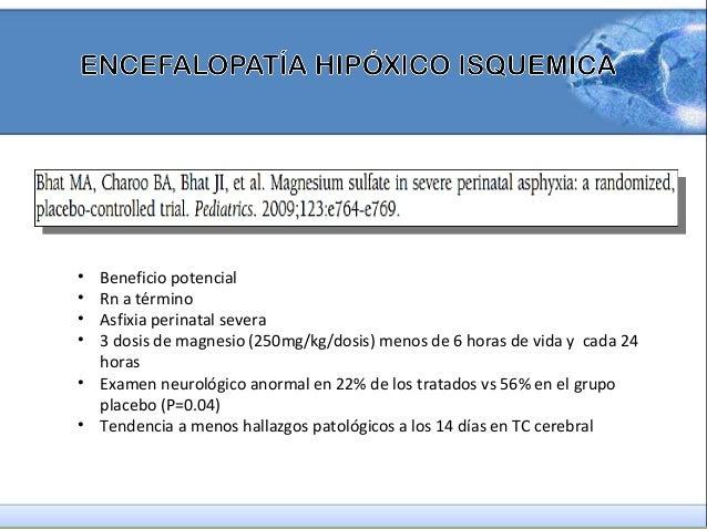 encefalopatía hipóxico isquémica, terapia de hipotermia