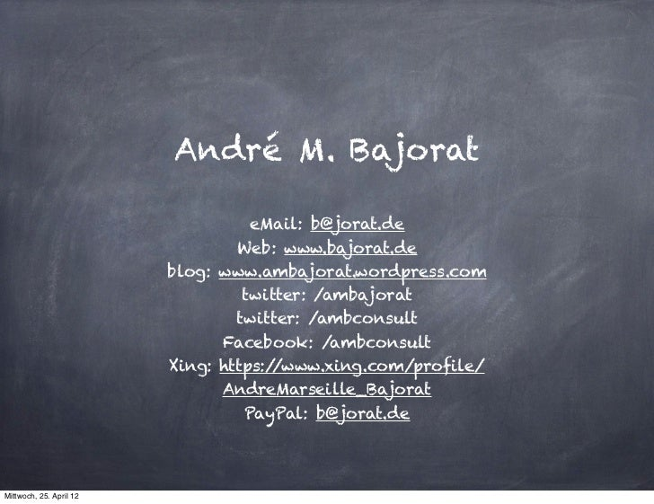 André M. Bajorat                                   eMail: b@jorat.de                                 Web: www.bajorat.de  ...