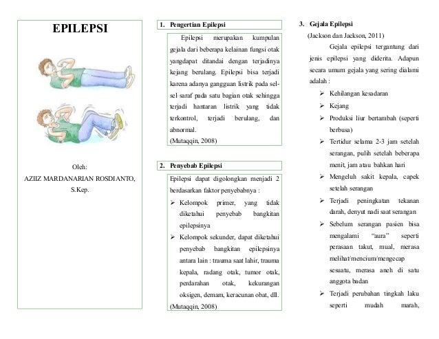 EPILEPSI Oleh: AZIIZ MARDANARIAN ROSDIANTO, S.Kep. 1. Pengertian Epilepsi Epilepsi merupakan kumpulan gejala dari beberapa...