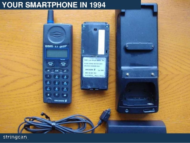 YOUR SMARTPHONE IN 1994
